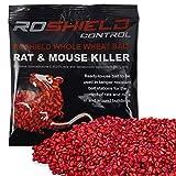 Roshield 500g Whole Wheat Bait Rat & Mouse Killer Sachet Kit+ 20% Extra Free