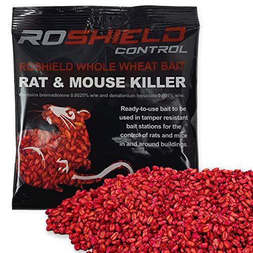 Elixir Gardens Rat Poison 2kg Strongest Available Online 20 x 100g Rodex Sachets PRIME