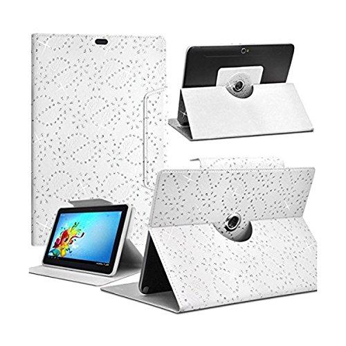 Seluxion Schutzhülle Diamant-S Farbe weiß für Gigabyte Tegra NOTE 7 Tablet