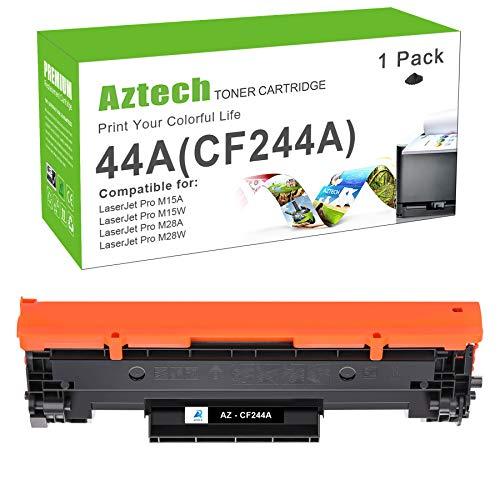 Aztech Kompatibel Tonerkartusche als Ersatz für HP 44A CF244A Laserjet Pro MFP M28w M15w M15a MFP M28a M29w M16a M16w M29a M15w MFP M28w (Schwarz,1er-Pack)