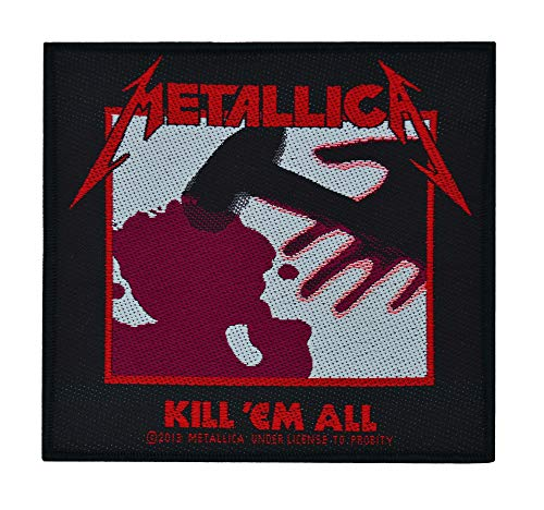 Unbekannt Metallica–Parche Kill All (en OneSize)