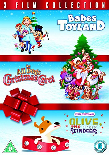 Babes in Toyland / An All Dogs Christmas Carol / Olive, the Other Reindeer Triple Pack [DVD] [1997]