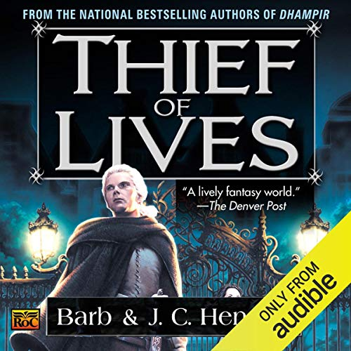 Thief of Lives audiobook cover art