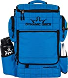 Dynamic Discs Combat Ranger Disc Golf Backpack   Large Main Compartment That Can Hold 18+ Discs   On-Deck Frisbee Golf Putter Pouch   Padded Back Panel and Straps for Extra Comfort (Ripstop Blue)