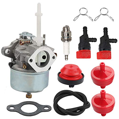Milttor 632371 632371A Carburetor Fit Tecumseh 631954 Snowblowers H70 HSK70 Toro 38050 38040 38072 38073 38510 38513 38062 38063 38065 Snowthrower