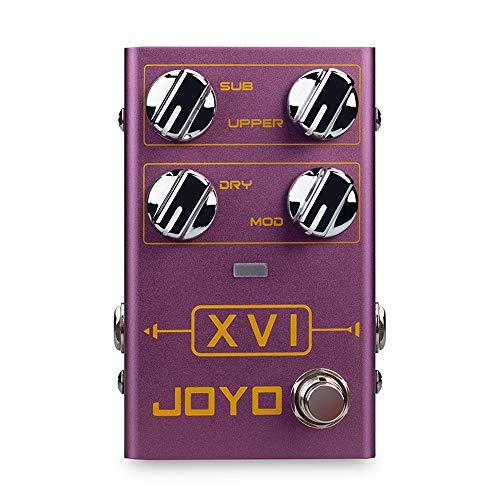 JOYO R-13 XVI Octave Pedal Effect Octaver with MOD Modulation