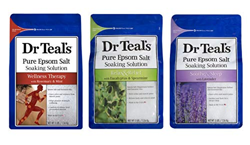 Dr. Teal's Epsom Salt Bundle Gift Set