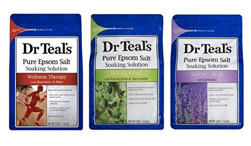 Dr. Teal's Epsom Salt Bundle Gift Set