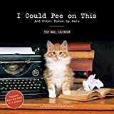 I Could Pee on This 2021 Wall Calendar: (Funny Cat Calendar, Monthly Calendar with Hilarious Kitty Pictures and Poems)
