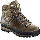 Meindl Borneo 2 MFS botas de trekking de piel para hombre - Marrón turrón, 42, Material superior: cuero, Material interior 100%