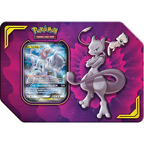 Pokemon TCG: Power Partnership Tag Team Tin, Mewtwo & Mew