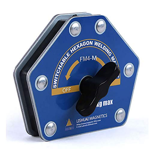 Switchable Hexagon Welding Magnet Strong Multi-angle Welding Holder 75lbs