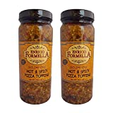 Enrico Formella   Hot & Spicy Pizza Topping   Italian - Chicago Style Hot Pickled Vegetables 16oz. (2-pack)