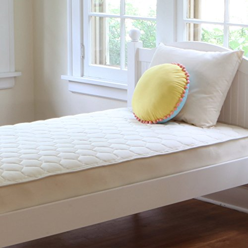 Check Out This Naturepedic Organic Cotton Quilted Deluxe 2-Sided Mattress - Full - 53 x 75 x 10