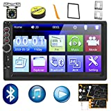 Car Stereo Double Din,7 inch HD Touch Screen Car MP5 Player USB/SD/AUX Input,Car