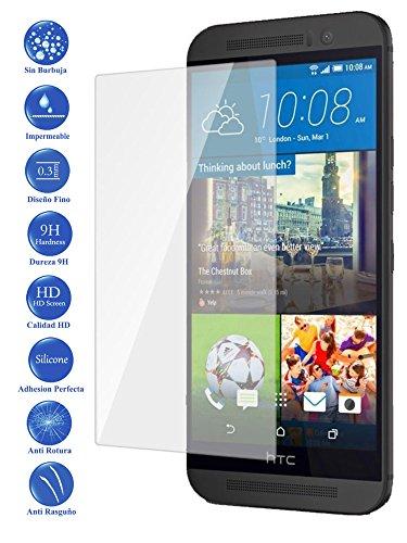 Todotumovil Protector de Pantalla HTC One M9 de Cristal Templado Vidrio 9H para movil