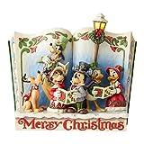 Disney Traditions, Figura con forma de libro de Mickey y amigos, para...