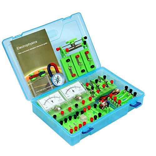HSDCK Física Laboratorio de Ciencias Circuito básico de Aprendizaje Starter Kit Electricidad...