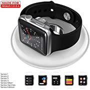 Upgrade Smart Watch Charger for Apple Watch Magnetic Charging Dock Wireless Charging Pad for iWatch Series 4 3 2 1 44mm/42mm/40mm/38mm