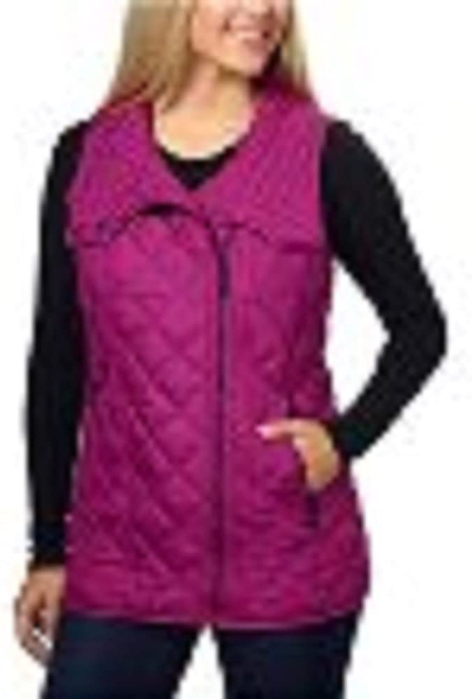 Andrew Max 58% OFF Marc Animer and price revision New York Womens Small Fuchsia Vest Quilted
