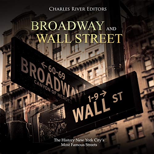 Broadway and Wall Street audiobook cover art