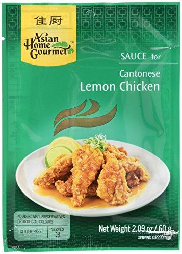 Asian Home Gourmet Würzpaste Zitron Huhn, 6er Pack (6 x 60 g)