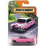 Matchbox 2019 MBX Road Trip '55 Cadillac Fleetwood 11/100, Pink