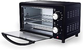 Mini Horno Eléctrico, Máquina De Pan Para Hornear Totalmente Automática De 12 Litros Con Placa De Cocción, Parrilla, Cocina Con Temporizador