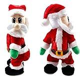 Wowstar Twisted Wiggle Hip Twerking Christmas Santa Singing Electric Toy