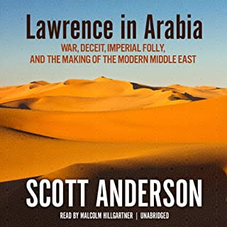 Lawrence in Arabia audiobook cover art