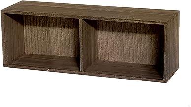 Magazine Racks Wall Shelf, Solid Wood Bookcase, Bedroom Wall-mounted Rack, Living Room Wall Decoration Frame, Multi-functi...