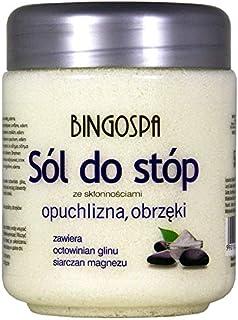 BINGOSPA sales de baño para pies para pies hinchados y dolorosos propensos a edema - 550 g