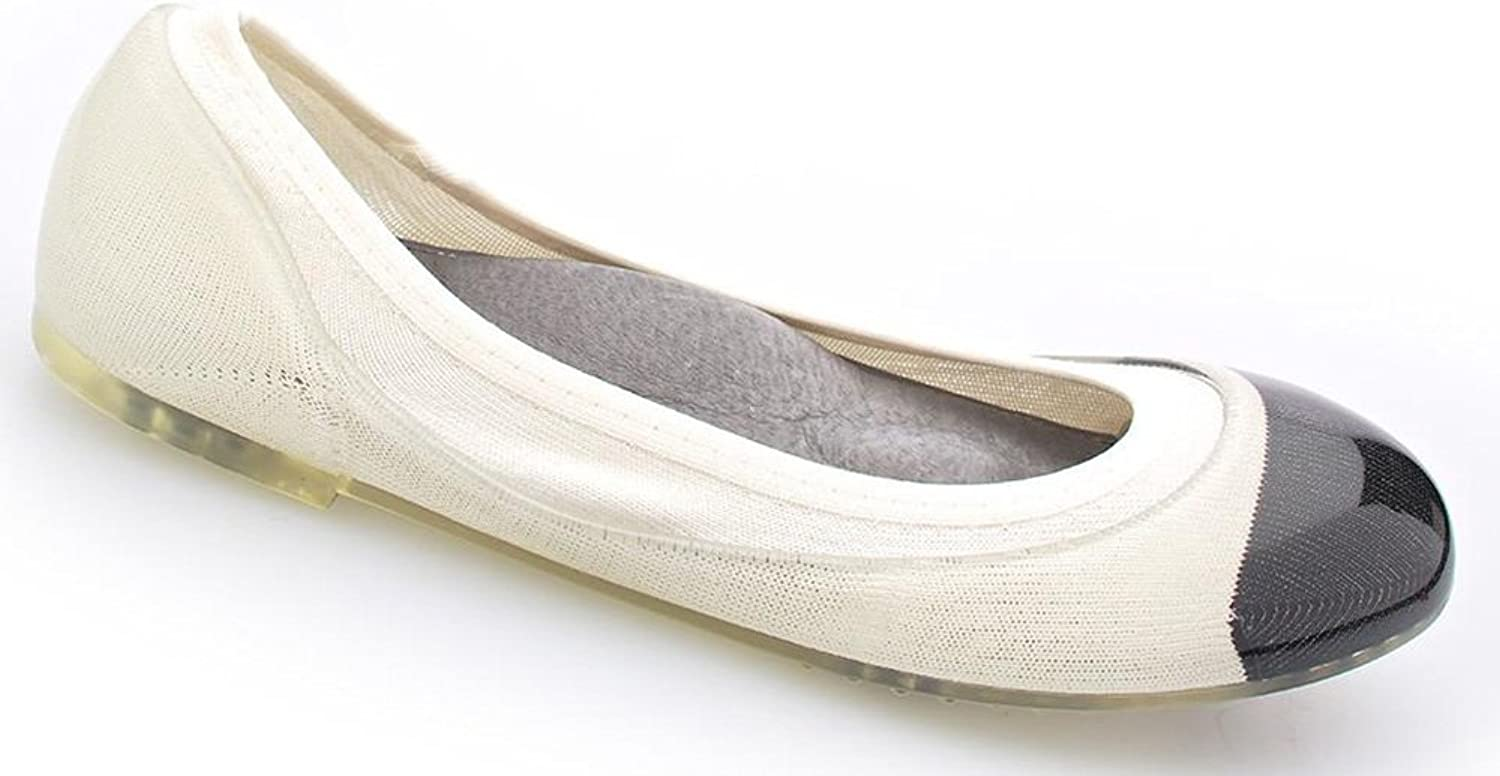 JA VIE Fashion Designer shoes for Women Jelly Flats Tip for Every Day Wear Driving Walking Traveling