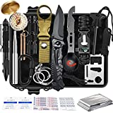 Gifts for Dad Men Him,Survival Kit 35 in 1,Survival Gear and Equipment,Cool Gadgets for Men,Christmas Birthday Gifts Ideas for Father Husband Boyfriend Teen Boy Emergency Camping Stocking Stuffers