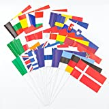 Everflag Europa-Set - 29 Papierfähnchen