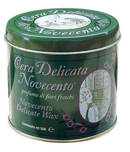 Cera Novecento Y991 Cera Delicata in Pasta, Neutro, 500 ml