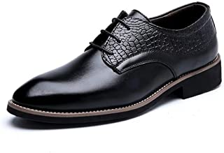 [Agogoo] 紳士靴 革靴 メンズ ビジネスシューズ ファッション 営業マン 外羽根 メンズシューズ クッション性 就活 仕事