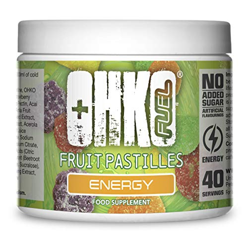 Powder Energy Drink for Gaming | Range of Delicious Flavours | The Ultimate Gaming Supplements from OHKO Fuel (Fruit Pastille)