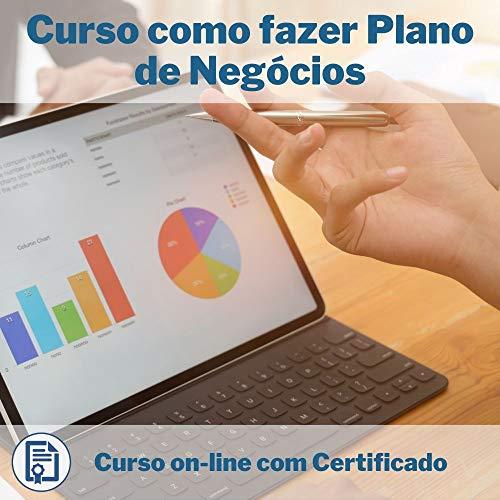 Curso Online em videoaula de como fazer Plano de Negócios com Certificado + 2 brindes