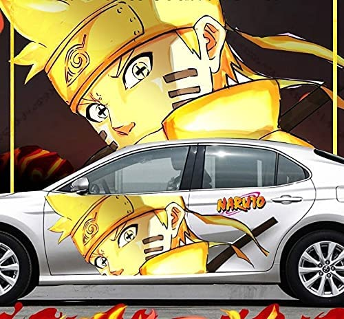 4 years warranty ZZYYII Body Sticker Naruto: Personal Naruto Uzumaki Waterproof Max 55% OFF