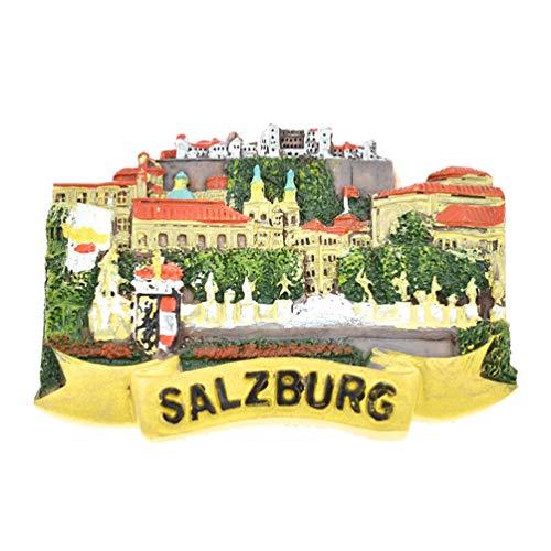 Kesheng Imán para Nevera Salzburgo Austria para Decoración del Hogar