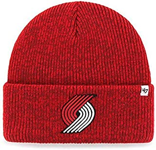 '47 Brand Basketball Cuff Beanie Hat - NBA Cuffed Winter Knit Toque Cap