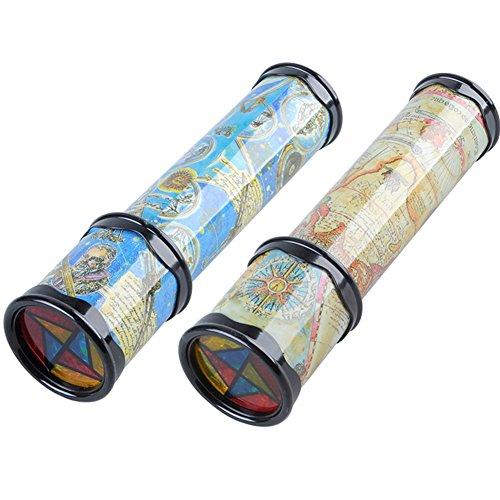 ETbotu Magisches drehendes Kaleidoskop-Variable Innenszenen-Spielwaren für Kinder u. Erwachsene Small 21 cm Klein 21 cm