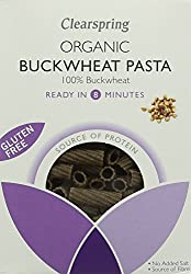 A genuine alternative to durum wheat pasta Made from naturally gluten free 100 percent buckwheat flour Makes a nourishing and satisfying meal Good source of protein Ready in 8 minutes
