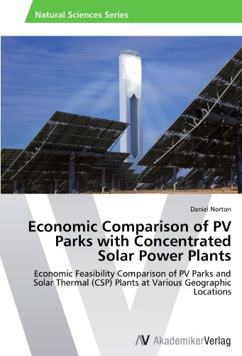 Economic Comparison of PV Parks with Concentrated Solar Power Plants: Economic Feasibility Comparison of PV Parks and Solar Thermal (CSP) Plants at Various Geographic Locations