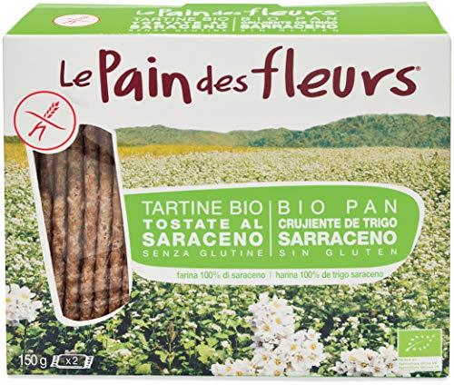 Pieczywo chrupkie z mąki gryczanej bezglutenowe BIO 150 g Pain Des Fleurs