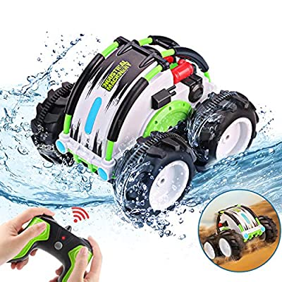 Amazon - Save 60%: Toys for 8-12 Years Old Boys Girls Waterproof RC Car Amphibious Remote C…