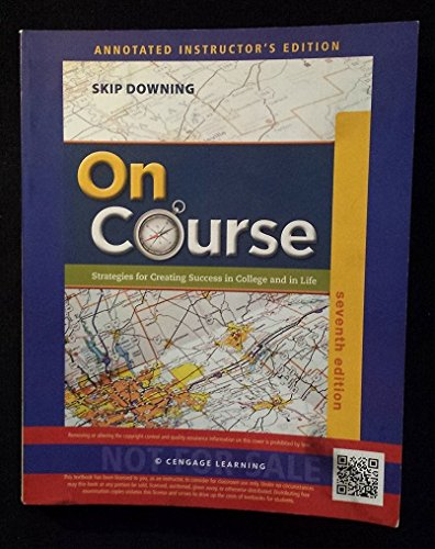 On Course 7th Annotated Instructor Edition