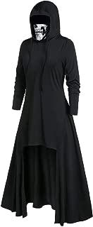 Long Coat,LOVESOO Women's Plus Size Long Sleeve Hooded Collar High Low Hem Ribbed Sweater