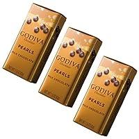 GODIVA(ゴディバ)  パール ミルク  [並行輸入品] (【包装なし】×3)
